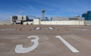 A Tour of Dallas' Huge Downtown Heliport