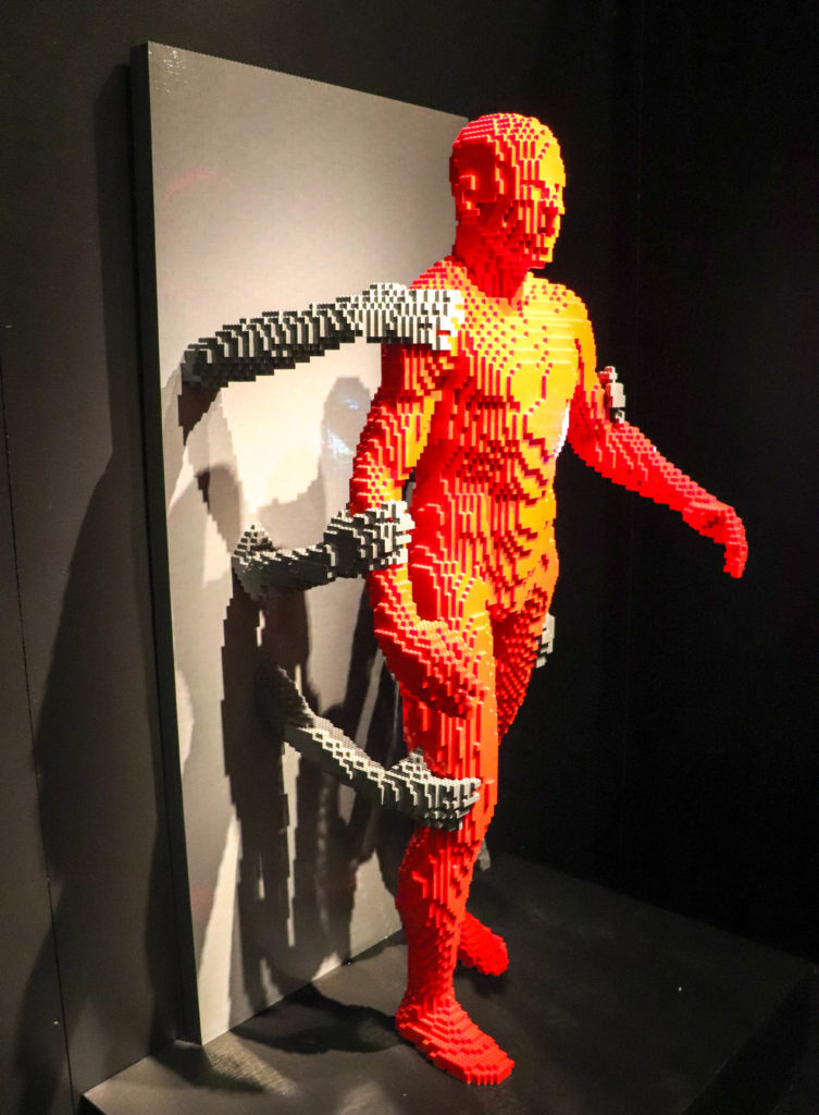 Perot Museum Art of the Brick