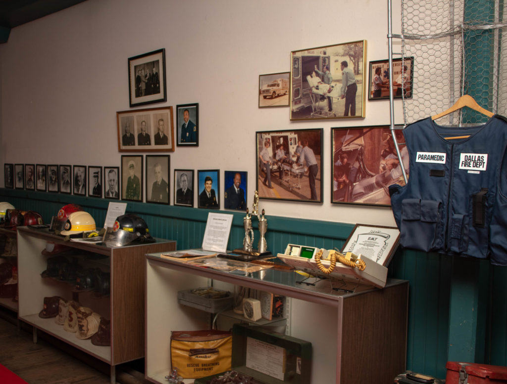 picture of dallas firefighting museum exhibit