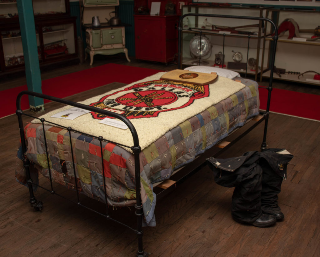 picture of firefighter bed