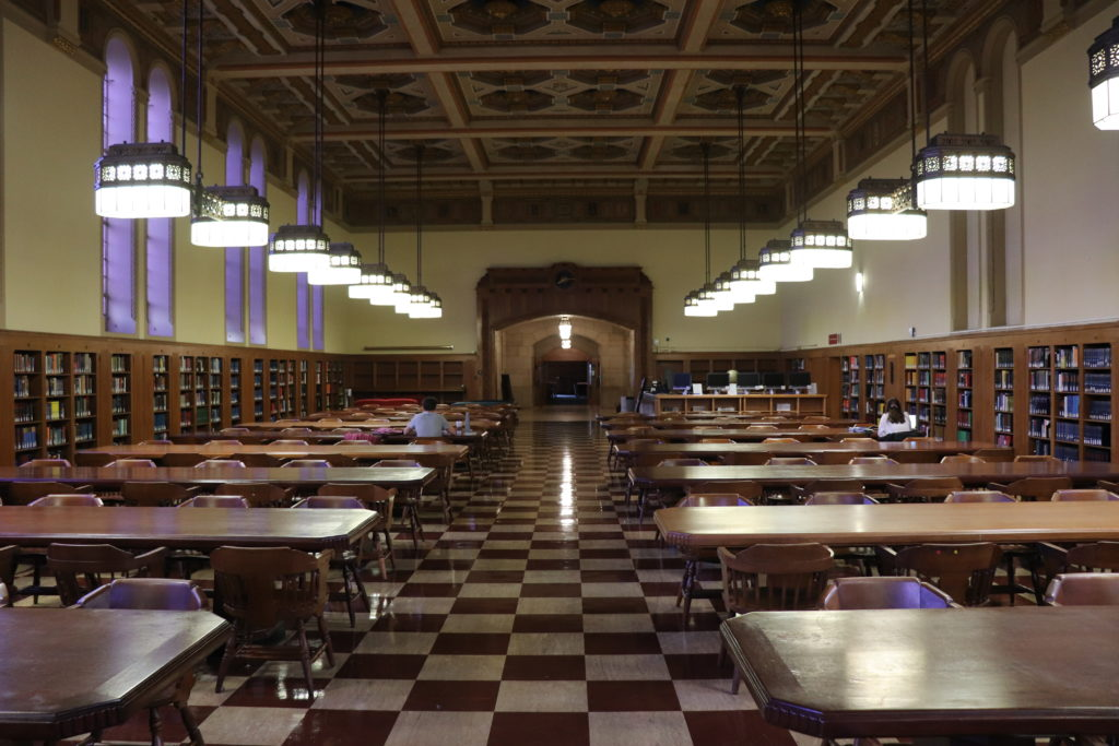 picture of the Doheny Library