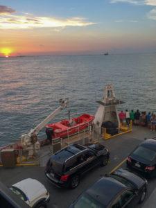 Galveston Island's Free Ferry Service
