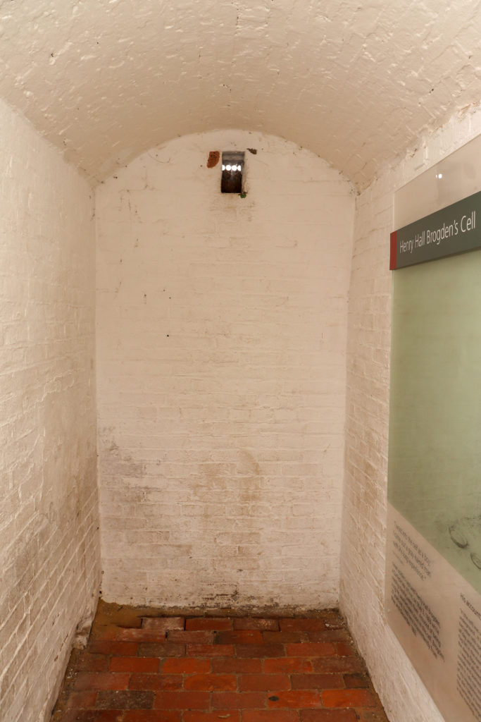 picture of Fort McHenry jail cell