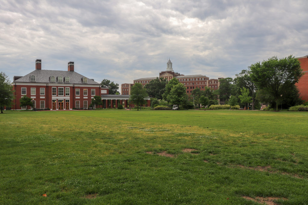 picture of Johns Hopkins University campus