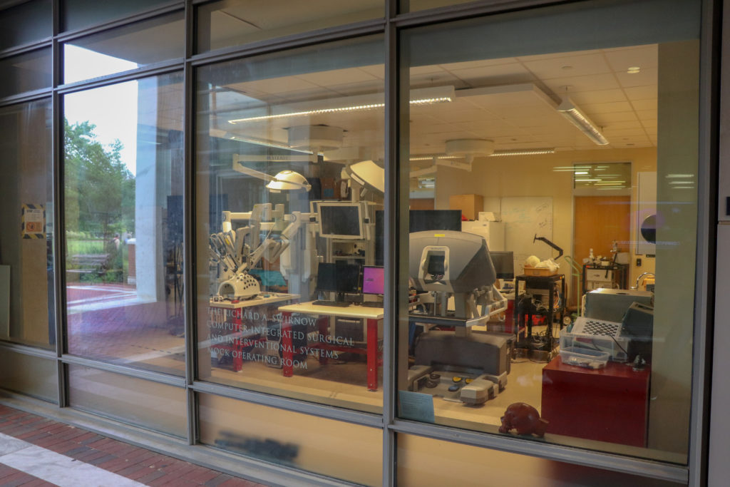 picture of Johns Hopkins University lab