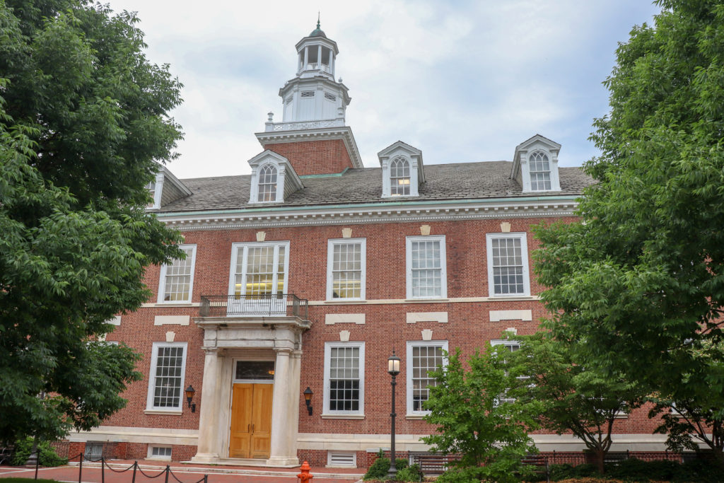 picture of Johns Hopkins University building