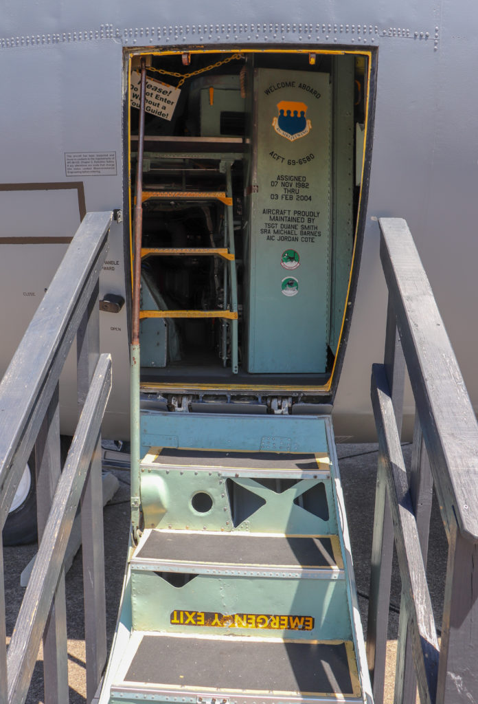 picture of aircraft entrance