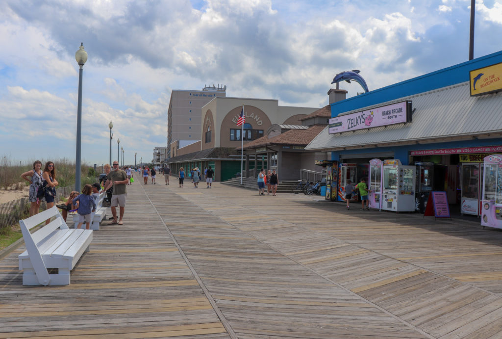 picture of rehoboth beach boardwalk