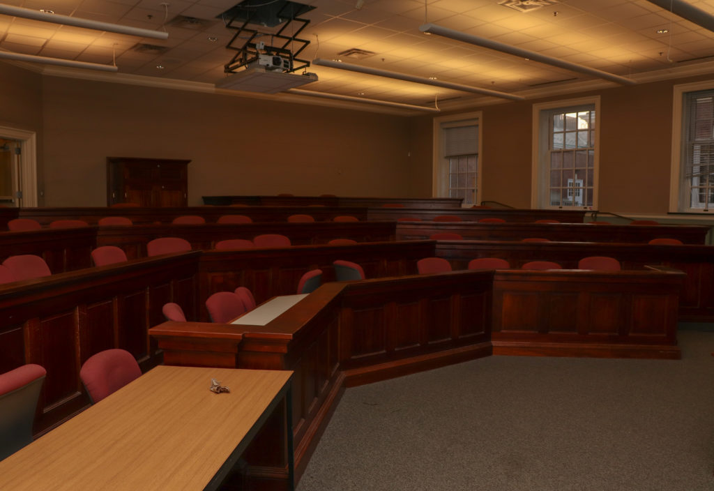 picture of university of delaware classroom